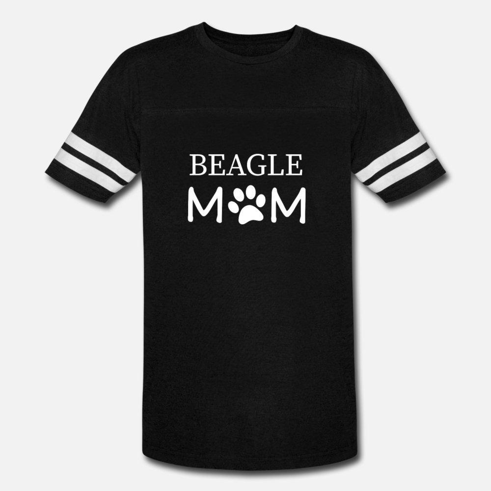 Sevimli Pençe Baskı t shirt erkek Özelleştirilmiş tişört S-XXXL Biçimsel Hediye Komik Casual Bahar Mektupları gömlekle Beagle Anne Hediye Fikir