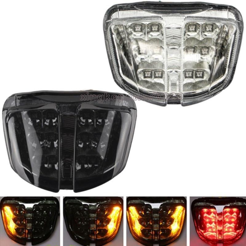 Integrato LED posteriore w / segnale di girata per Suzuki GSXR600 GSXR750 2006-2007 K6