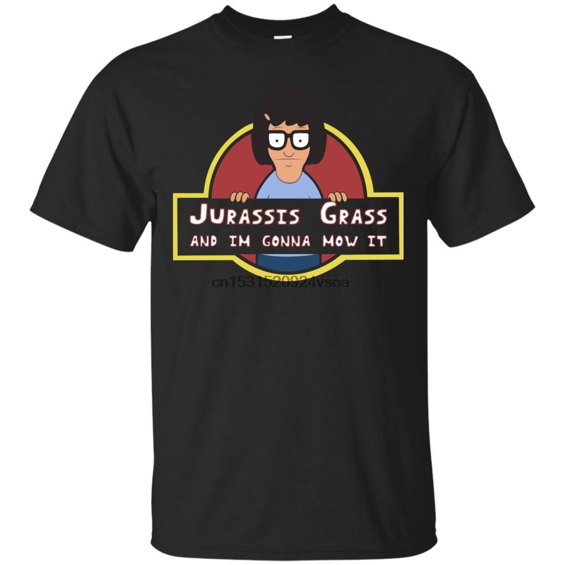 Jurassis Grama E eu vou Mow-lo t-shirt