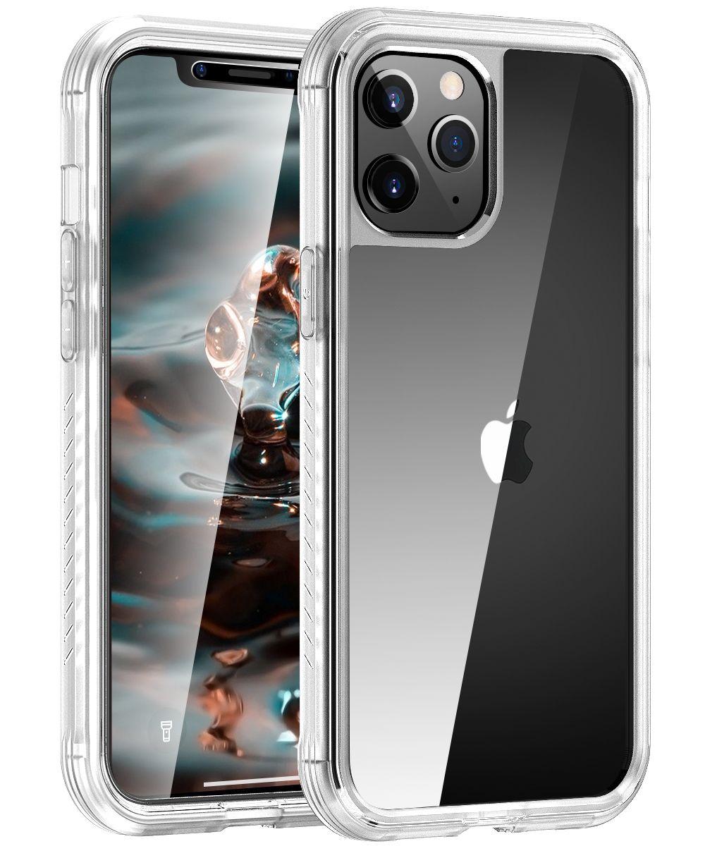 Оптовая антидетонационных 360 Полный Body Clear Phone Чехол для iPhone 12 Max 2020 Гибридная резиновая крышка для iPhone 12 Pro Max