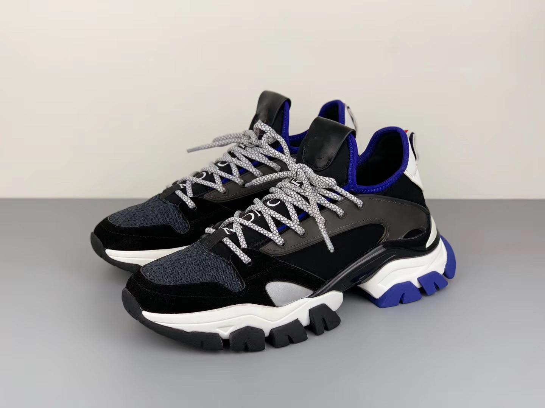 Yeni lüks platformu ayakkabı tasarımcısı erkek ayakkabıları 3M yansıtıcı TREVOR erkekler rahat ayakkabılar da üretim kalitesini spor ayakkabılar boyutu 38-46