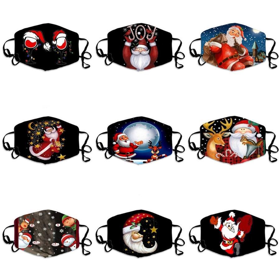 Glow Masks1Pc Симпатичные маски мультфильм печати Расчесываемый Рот маска дышащий Теплый GlowThe Dark Dust # 975