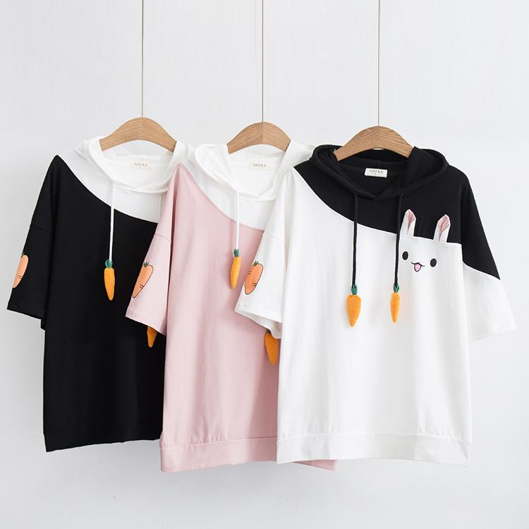 children Gilrs Students short sleeve Animal lovely Tops &Tees 2020 new arrival comfortable material meshable