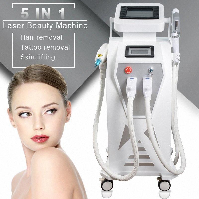 Capelli efficace Elight OPT SHR E Light IPL permanente rimozione dell'acne macchina di rimozione del ringiovanimento della pelle RF Laser bellezza Machines HHFy #