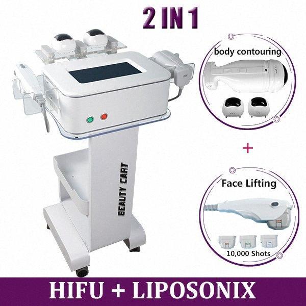 30000 Shots HIFU liposuzione macchina Liposonix Fat Remove Hifu del collo del fronte Ascensore Doppio mento del dispositivo di rimozione Spa Salon Lipo che dimagrisce p0tB #