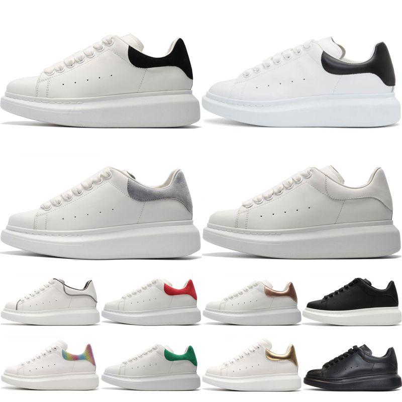 Platform Shoes platform Casual Shoes Tasarımcı Rahat Ayakkabılar Ucuz Yüksek Kalite üçlü siyah beyaz gri altın Mens Womens Sneakers Parti Platformu Ayakkabı Chaussures Sneakers