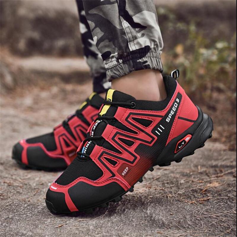 Designer nova homens sapatilhas fashion desgaste respirável antiderrapante malha respirável casuais antiderrapante caminhadas sapatos mocassins 39-48