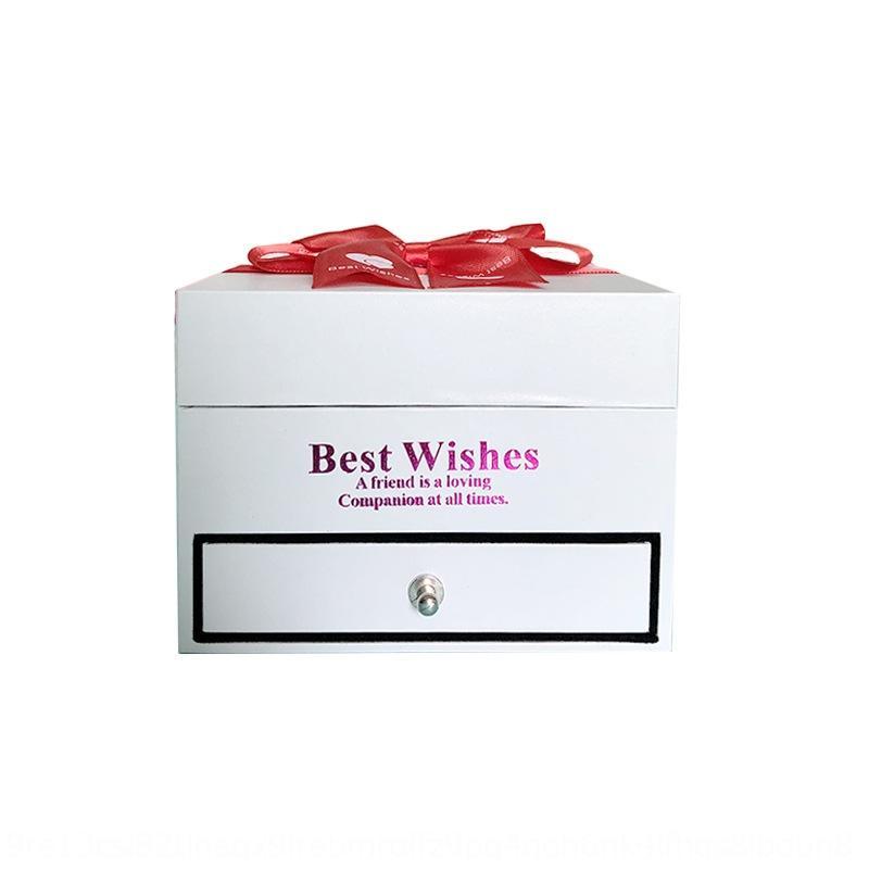 Soap Box eterno dono fiore farfalla collana collana fiocco regalo cassetto jZGmK