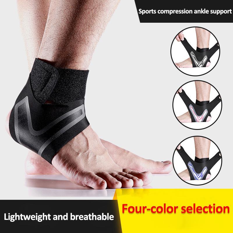 Ajustável Sports compressão elástica tornozelo Brace Suporte Prevenção Entorse Esporte Guarda Academia Banda Suporte tornozelo Brace aptidão