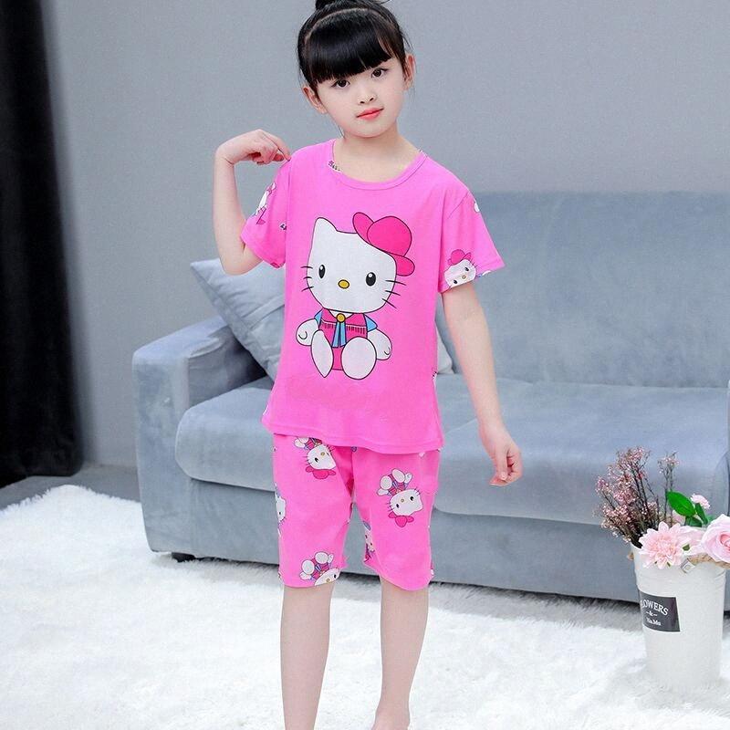 Высокое качество New Kids пижама наборы мальчиков мультфильм моды Baby Дети Pijama INFANTIL пижамных Girl Главная Одежда Детская Пижамы flRj #