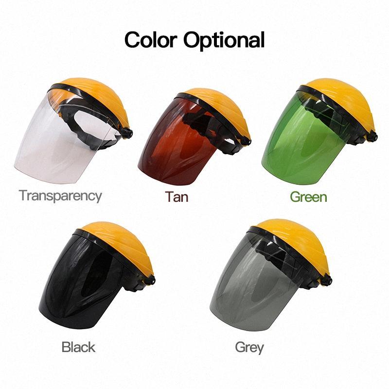 Helm Hochtemperaturbeständige Schweißmaske Kopfschild Splash Proof Motorrad Helme Topcase LyUR #