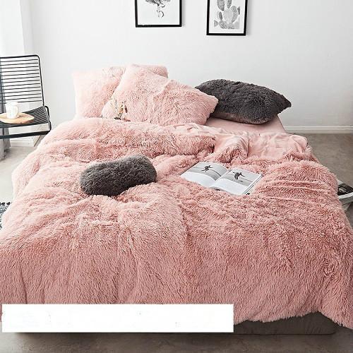 Conjunto de ropa de cama Cubierta de edredón Casa de cama Sábana Ropa de cama
