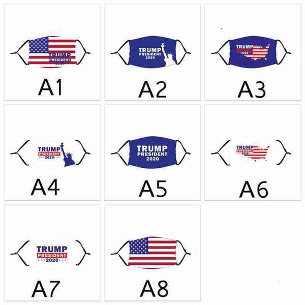 Maskeler Toz geçirmez Yetişkin Yıkanabilir Tekrar Kullanılabilir Biden için Seçim ve Çocuk Yüz Bize Trump Amerikan Bayrağı Cyz2662 joho546 Maske yazdır