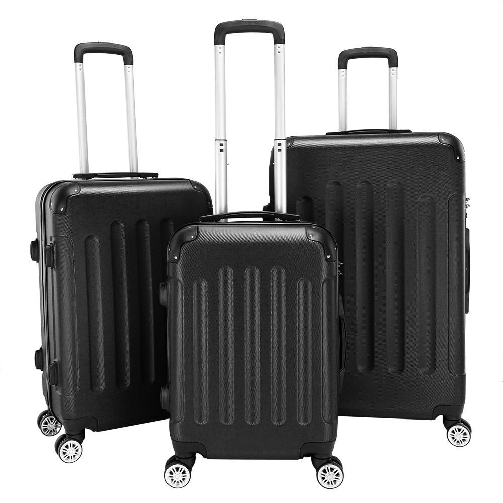 """Una maleta de tres personas con gran capacidad impermeable maleta Wan Lun hombres y mujeres tirar caja de la barra 20 """"24"""" 28"""""""