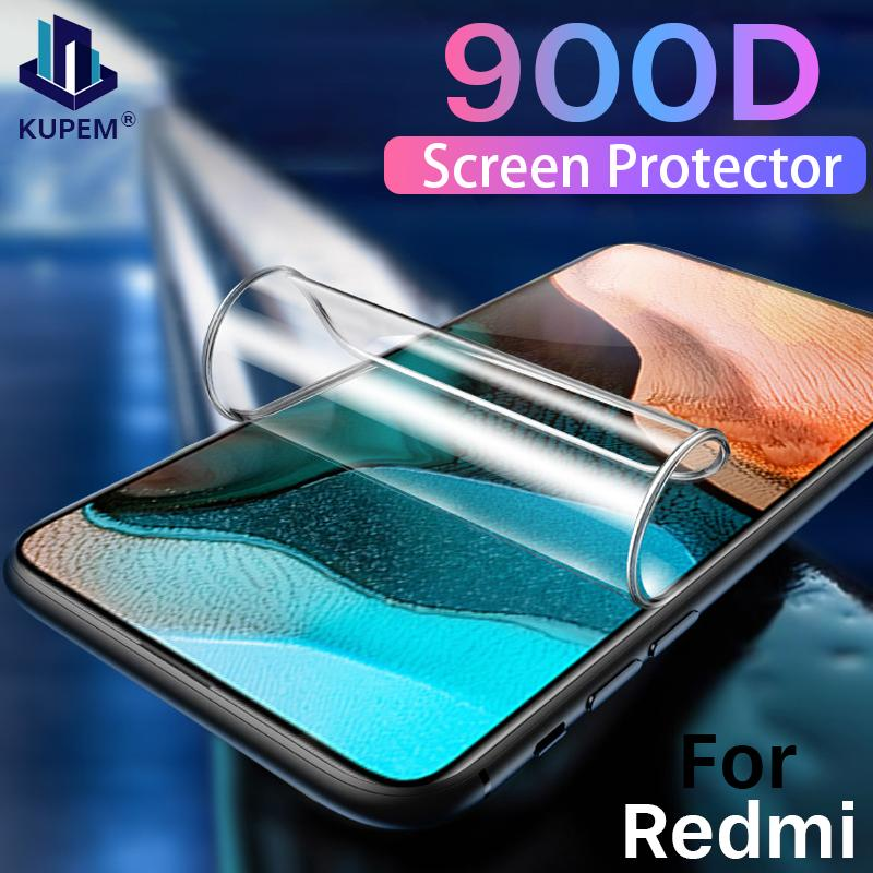 900D Hydrogel Film For Xiaomi Redmi K20 K30 Note 9 9S Pro Max Screen Protector For Redmi Note 7 8 Pro 8T Soft Film Not Glass