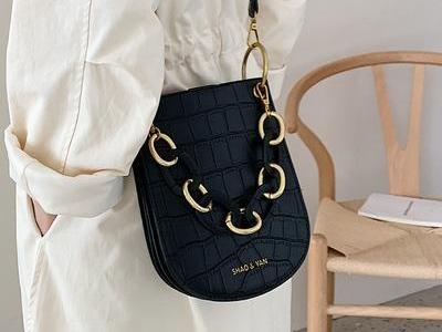 Vintage Alligator Saddle Women Shoulder Bags Designer Acrylic Handle Handbags Luxury Pu Leather Crossbody Bag Lady Large002