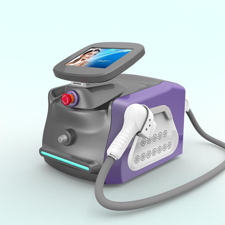 Cabelo Popular Máquina da remoção 808nm diodo laser de rejuvenescimento da pele Laser Diode Fisioterapia com Diode ICE Sistema de resfriamento