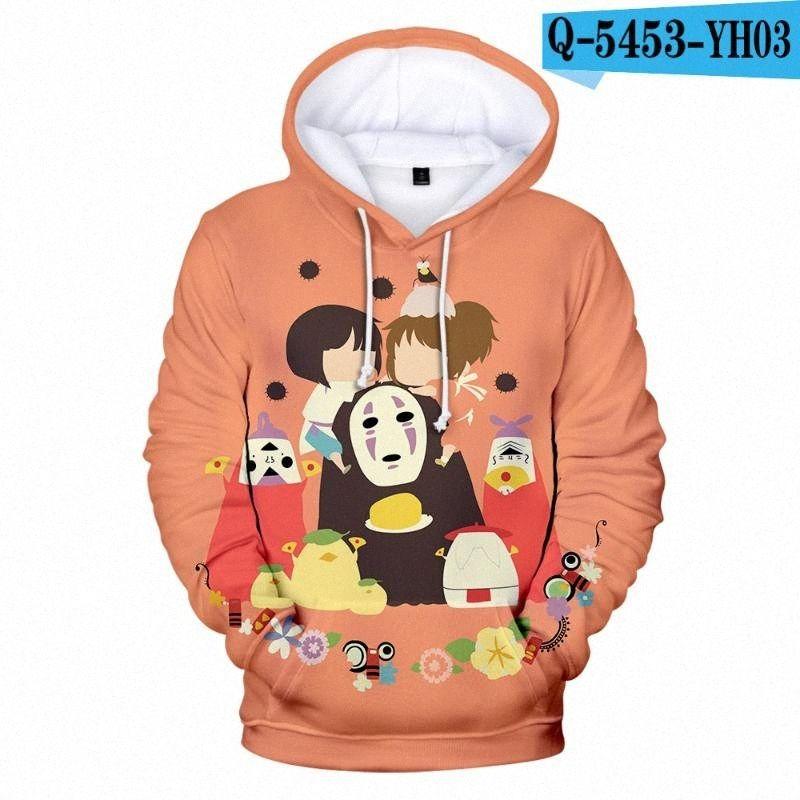 2020 2020 Kinder-Sweatshirts Chihiros 3D Hoodies Kinder-Kapuzen Boy / Girl Anime A von Chihiro Hot Hoodie No Face Mans mit Kapuze HMyO #