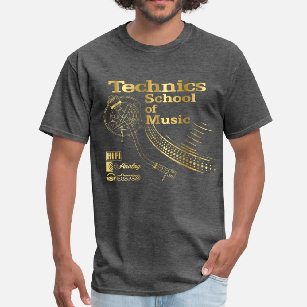 Técnicas Deejay hombres de la camiseta impresa 100% algodón O-cuello de la manera Cartas anti-arrugas camisa del resorte de tendencia