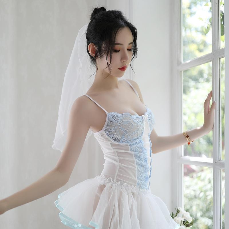 E3ovR белье юбки сексуальной белой кружевной сексуального костюм SUSPENDER женщины юбка слинг слинг подвеска