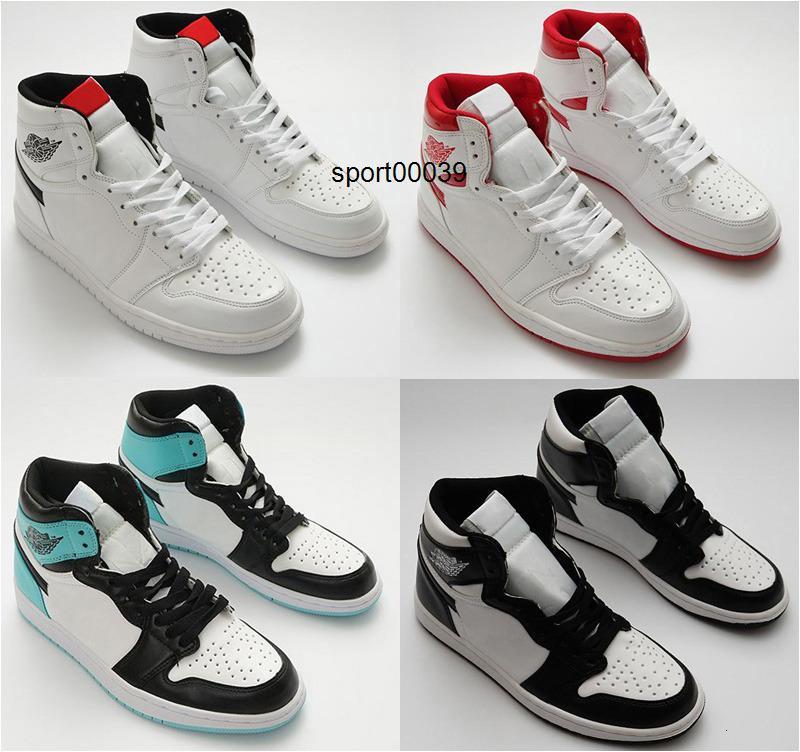 OG sapatos 1 homens de basquete para crianças RETRO To Home New Love Bred Banido Toe Bred Chicago Fragmento UNC homens NakeskinJordâniaShoe Retros