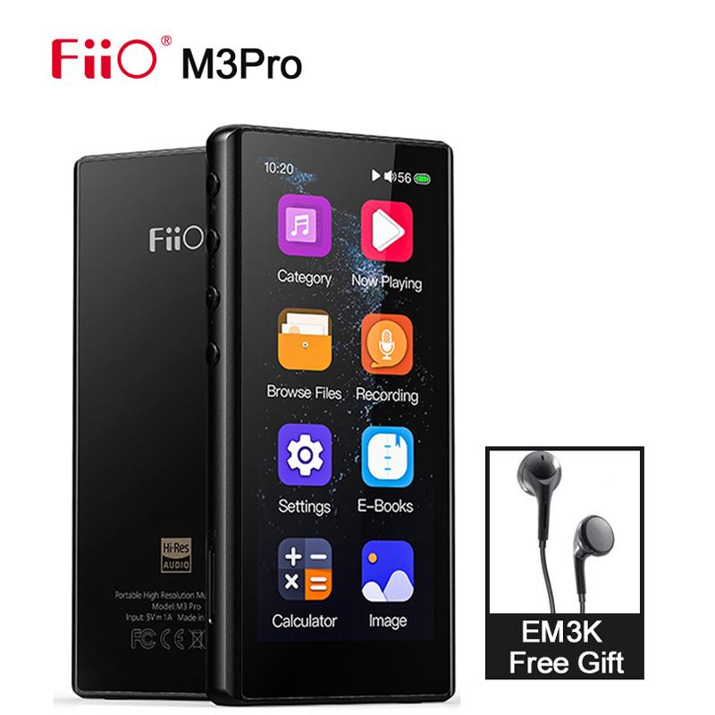 FiiO M3Pro/M3 Pro Hi-Res MP3 Player ES9218 HiFi Lossless Music Player USB DAC Support Resume mode Gapless play