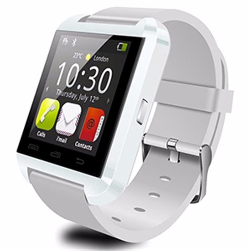 Monitör Akıllı İzle With Perakende Paketi Sleeping iPhone 7 Samsung S8 Android Telefon için Bluetooth U8 Smartwatch Bilek Saatler Dokunmatik Ekran