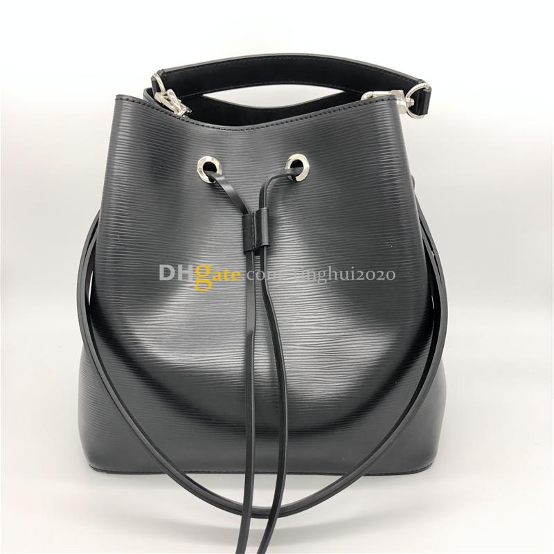 2020 New Style Femme Sacs Bucket Mode neoneo M54366Big Taille Designer Sacs à main en cuir véritable sac à bandoulière En Stock Livraison gratuite