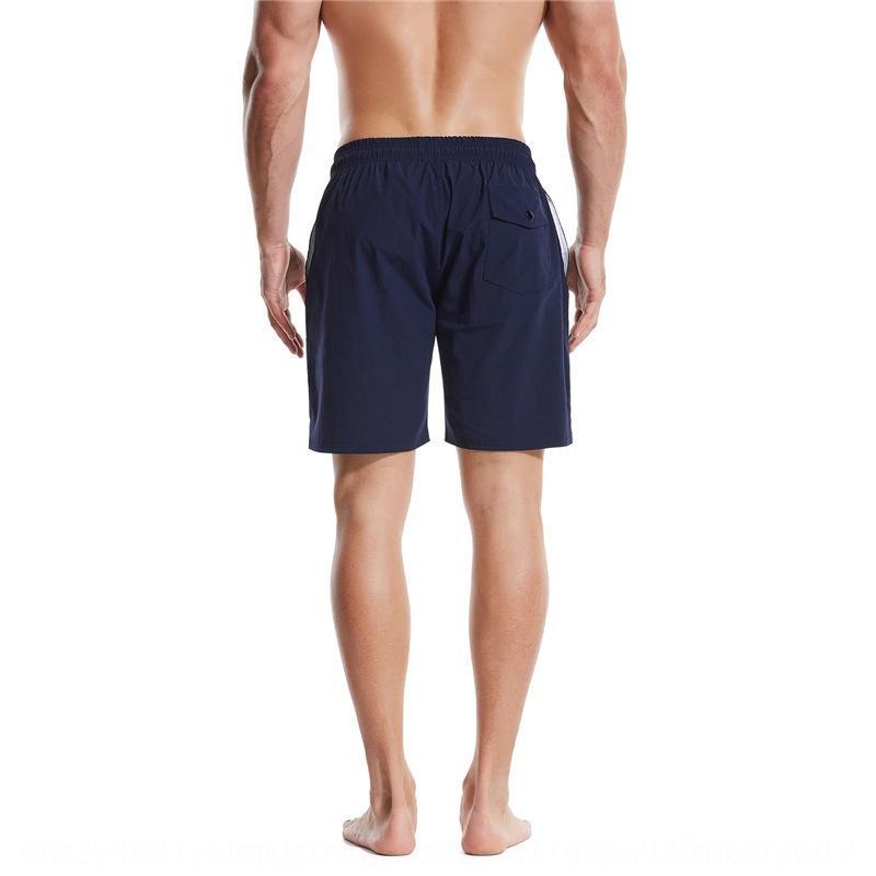 2020 Verão de secagem rápida praia dos homens quatro lados elástico shorts bolso Praia calças calças desportivas esportes oEe9X
