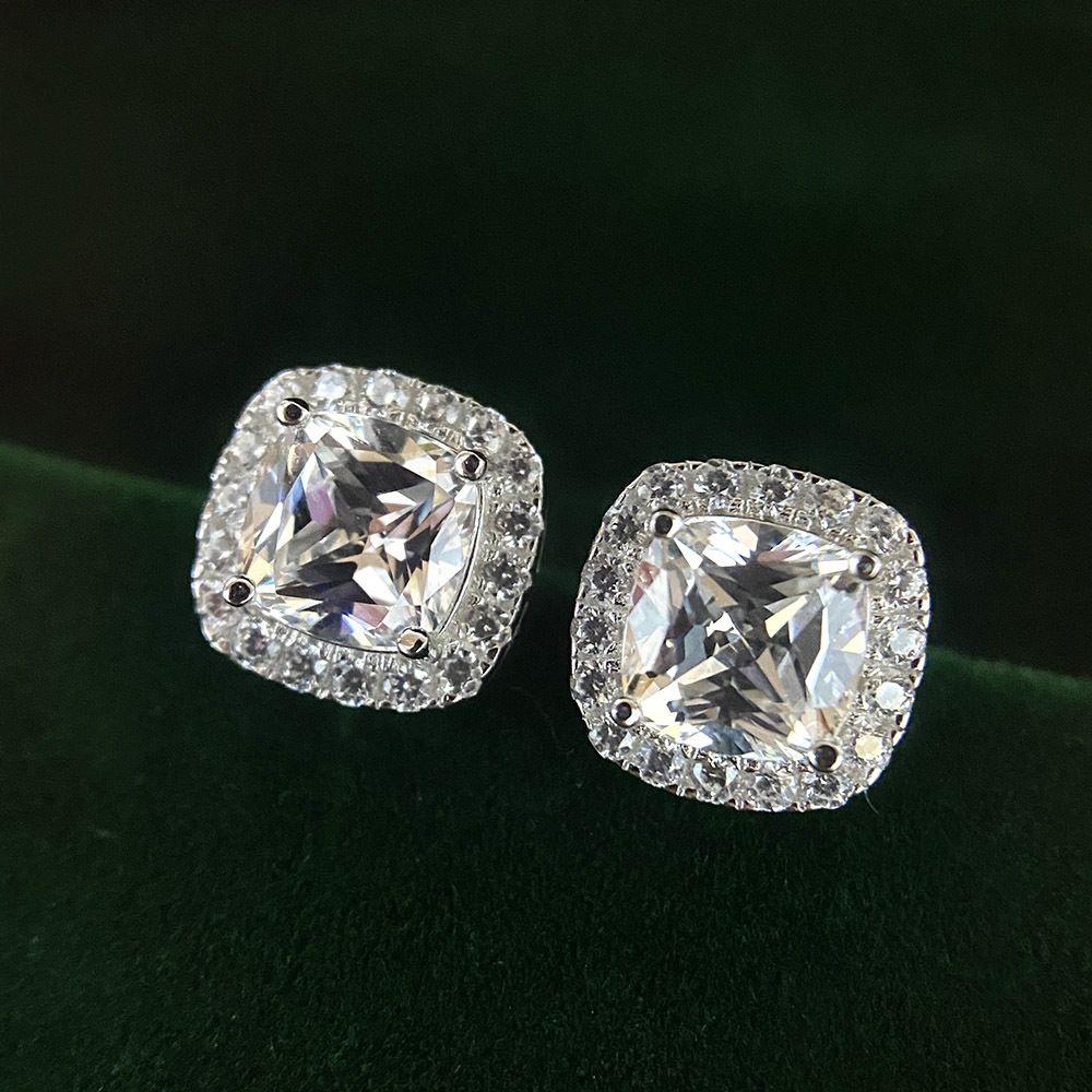 lzb7g Shipei bijoux 2020 nouvelle silverinlaid sterling S925 et boucles d'oreilles SIN boucles d'oreille vente chaude