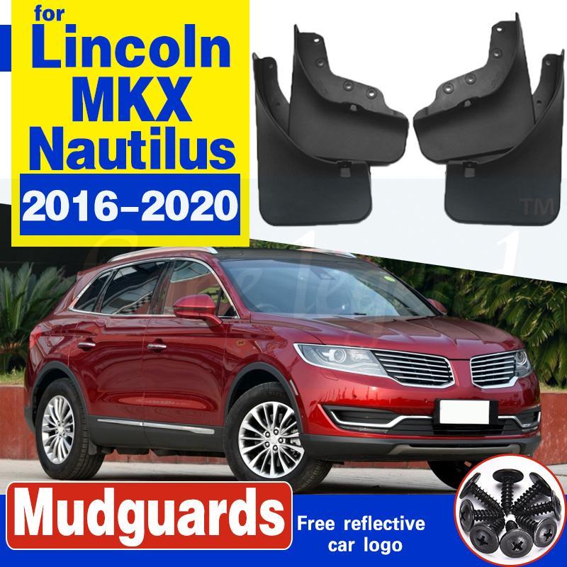 Vorne Hinten Auto-Schmutzfänger für Lincoln MKX Nautilus 2016 ~ 2020 Fender Mud Schutzklappe Splash Flaps Radschützer Zubehör 2017 2018 2019