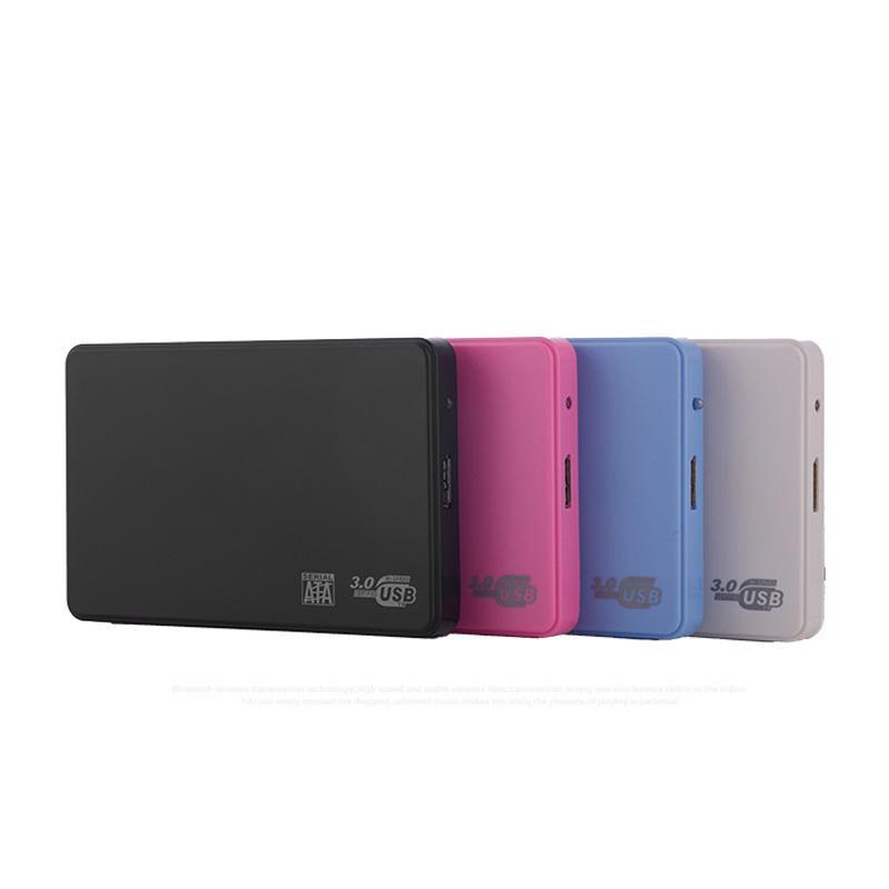 2.5inch HDD 케이스 SATA to USB 3.0 어댑터 SSD 디스크 케이스 인클로저 용 하드 드라이브 인클로저