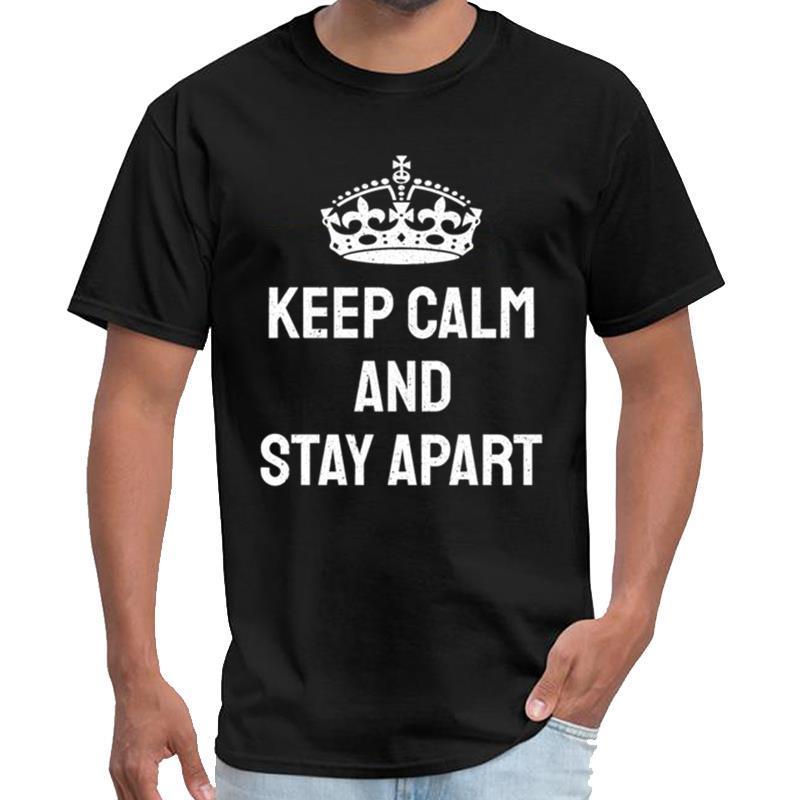 Printed Lustig behalten Sie Ruhe und Aufenthalt auseinander Gemeinschaft Bewusstsein Russland T-Shirt Frauen T-Shirt Baumwolle s-5xl hiphop