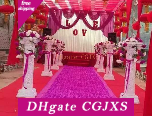 European Style Plastic Roman Column Wedding Roman Column To Celebrate Shop Decoration Road Cited 98cm High Quality Guarantee Wq13