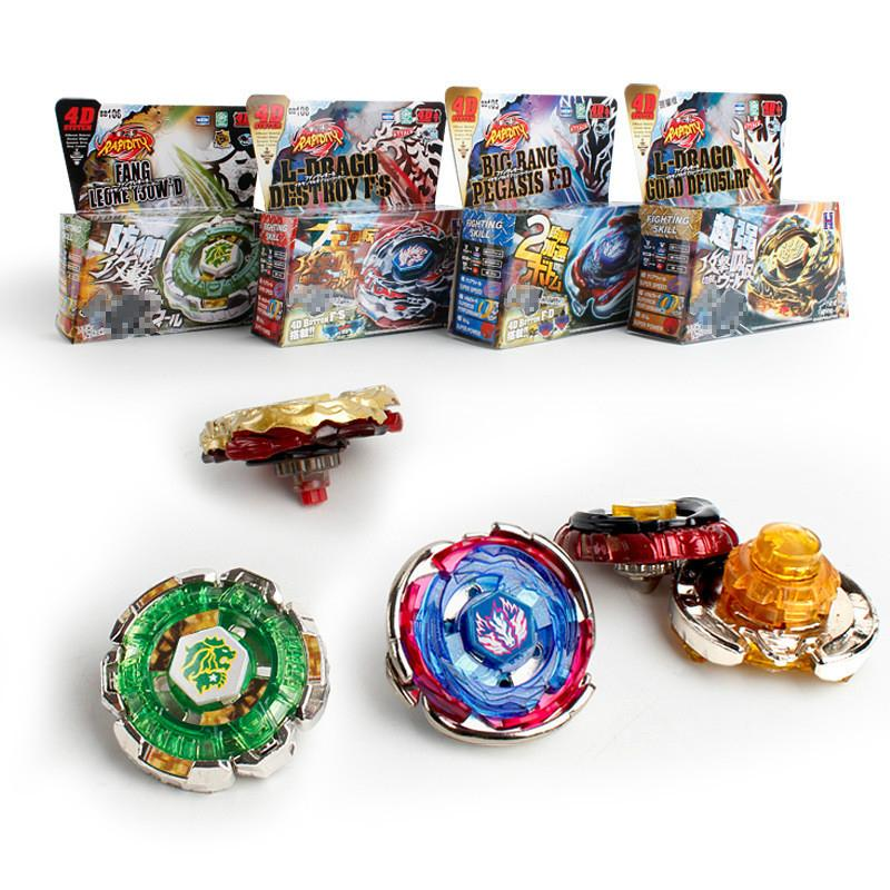 40 Pack Beyblade Set Fusion 4D Top Beyblade Constellatio Launcher With Spinning Metal Kids Game Toys Christmas Box For Children Gift Mo Xcct