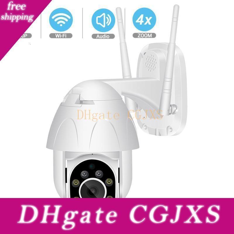Besder 1080p Ptz Deux -Way Audio Wifi Caméra numérique 4x Zoom Ir Night Vision Tracking Auto Caméra IP étanche Cctv Surveillance T191018
