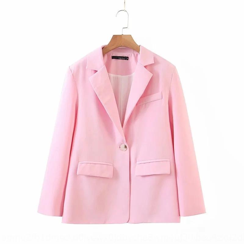 Blogger chic beiläufiges kleine Frauen Herbst und Winter neuer Anzug Kragen loses Eis Fellfarbe Jackett rc7vh