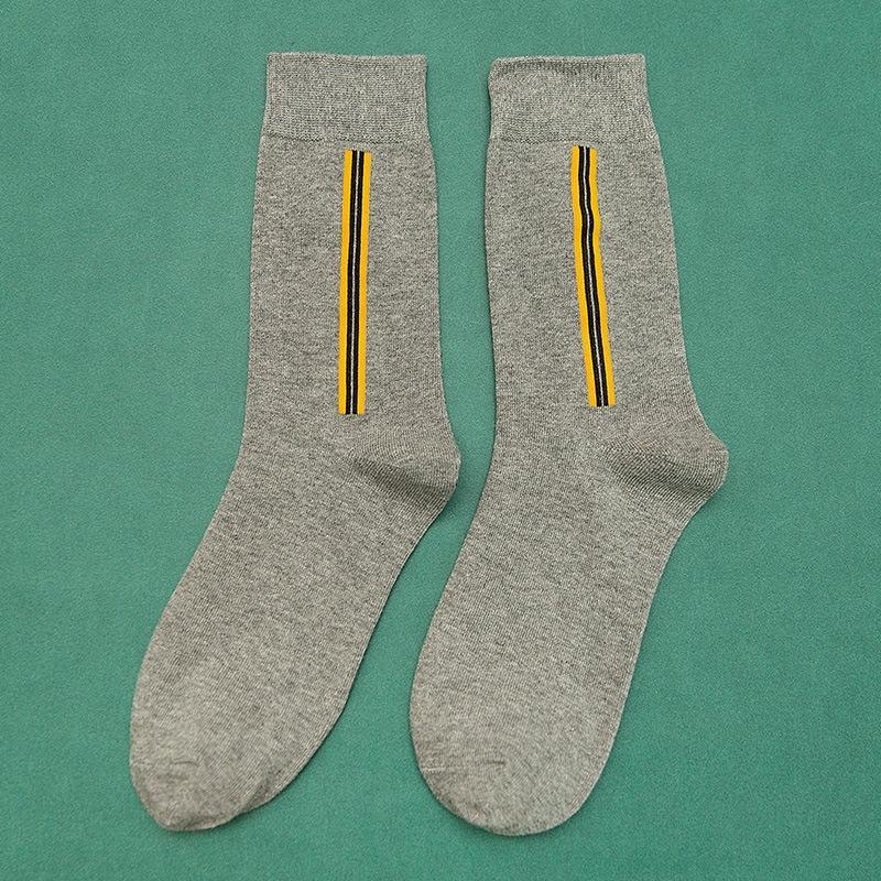 metà gamba piede quadrato autunno uomini QVvnn Bpysg e calzini di cotone Nuova Pallacanestro barra verticale di basket maschile di sport calzini casuale puro cotone w