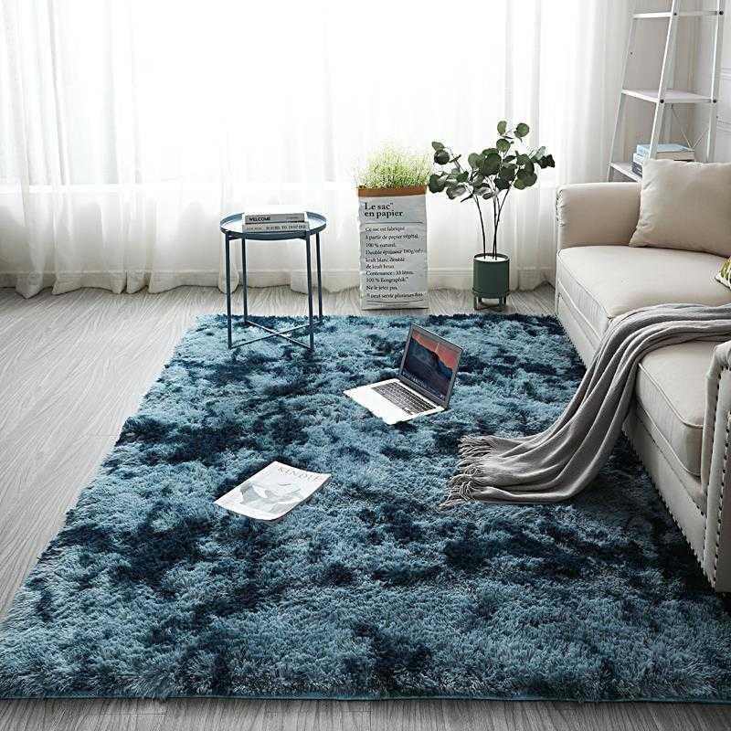 salon de tapis nordique chambre tapis de table basse en peluche tapis tatami baie fenêtre tapis enfant ramper cuisine tapis anti-dérapant