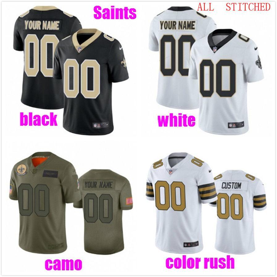 Personalizzato pullover di football americano per la gioventù delle donne degli uomini dei bambini personalizzati autentici fan di Colori nuove squadre Jersey di calcio 4XL 5XL 6XL