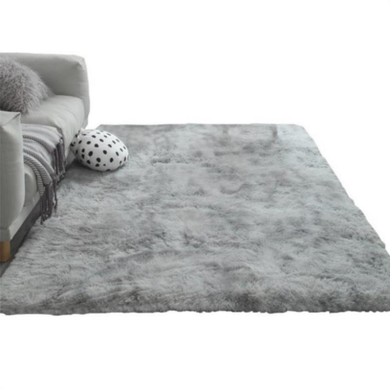 새로운 북유럽 솔리드 더미 봉제 카펫 매트를 들어 거실 대형 미끄럼 방지 침실 / 스터디 / 복도 소프트 카펫 아이 침실 매트