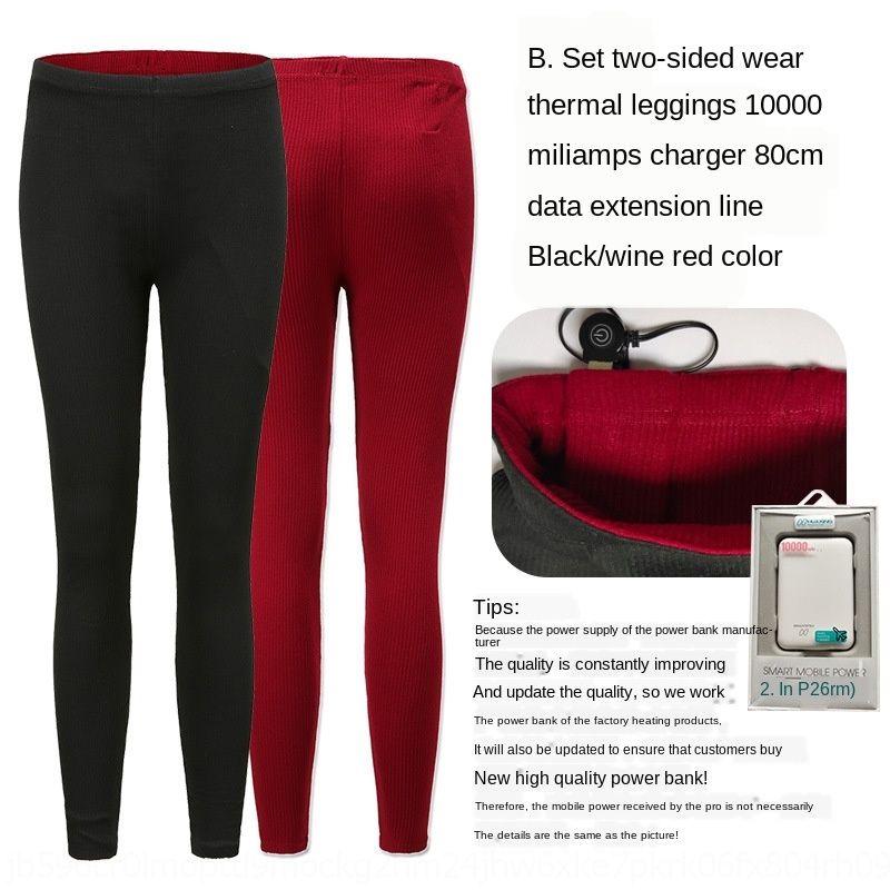 U3ESa RknM7 New leggings aquecimento inteligente emagrecimento inverno quente coreana apertada e calças das mulheres Estilo leggings bar Outono quente elástica pa