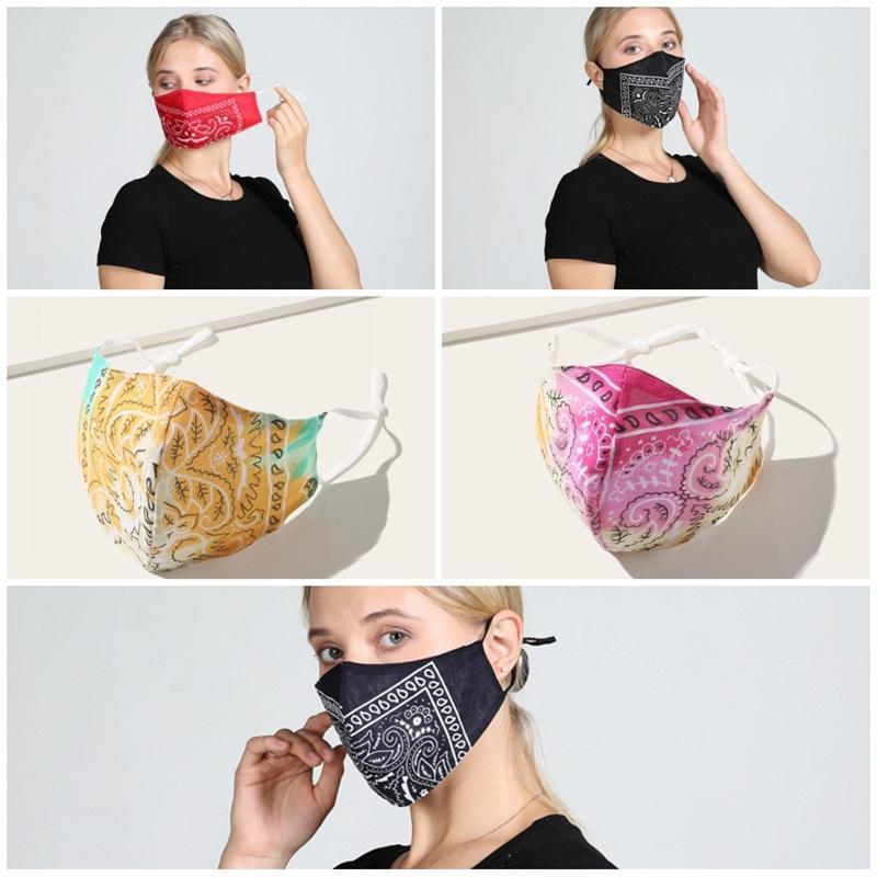 Fashion Face Mask Reusable Respirator Dustproof Mascarilla Anti Smoke Cotton Material Woman Man Four Seasons Type V Cashew 4 5wh D2