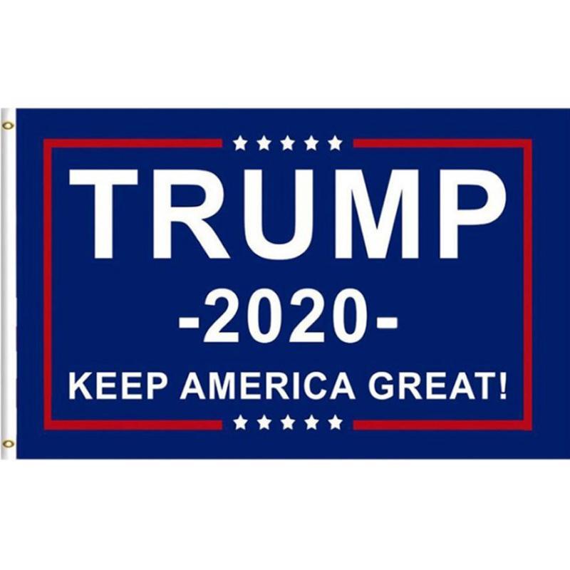 Флаги Бесплатная доставка горячей кампании президента 8 стилей 3x5 FT Trump Flag 2020 Выборы Trump Флаг Баннер Печать Keep America Great