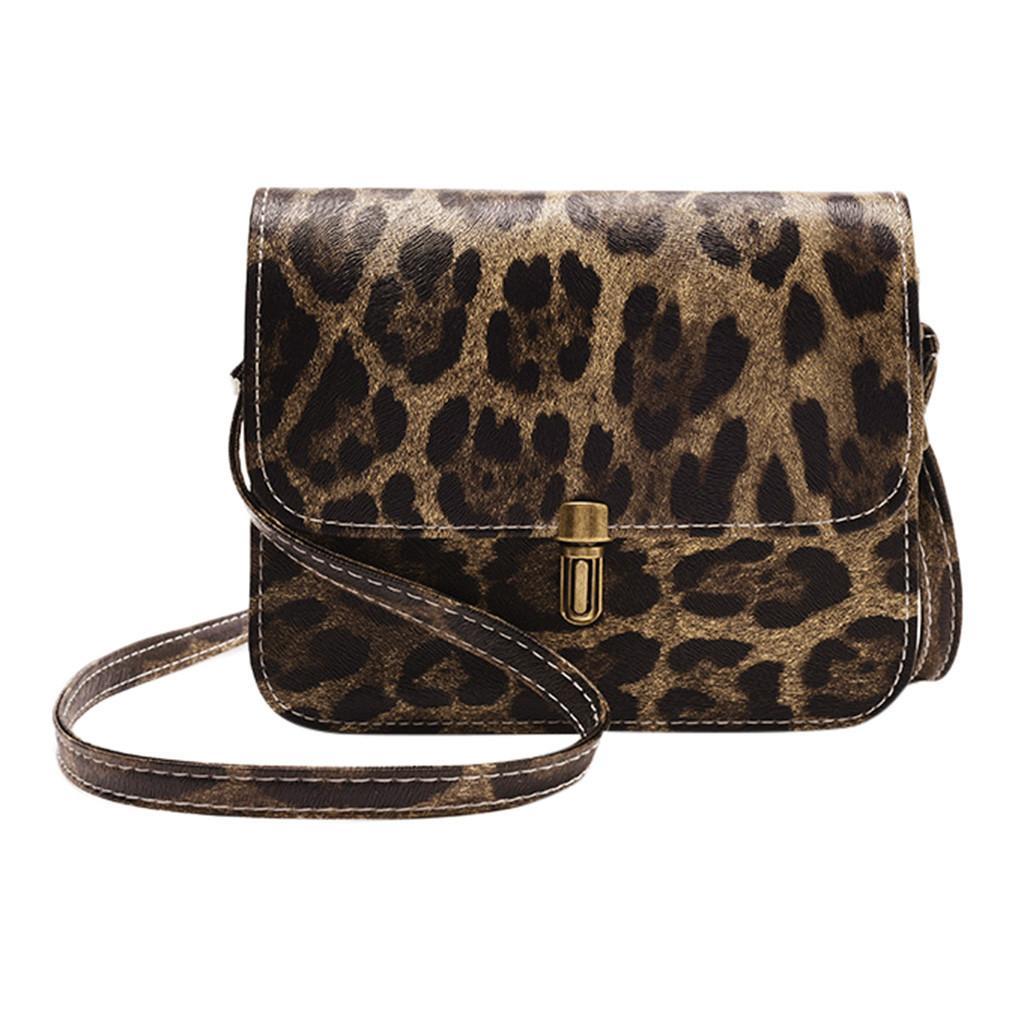 2020 Sacos de nova marca de moda Top Mulheres Bolso Moda Leopard Print Fawn Pendant Ombro Praia Messenger Bag saco do telefone Sac A principal # 5 $