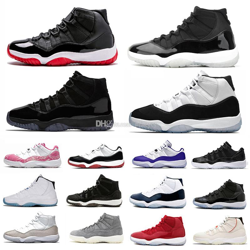 nike air jordan 11 retro 11 25th anniversary jumpman 11 mens basketball shoes 72-10 11s cap and gown bred low concord space jam uomo donna formatori sneakers sportive