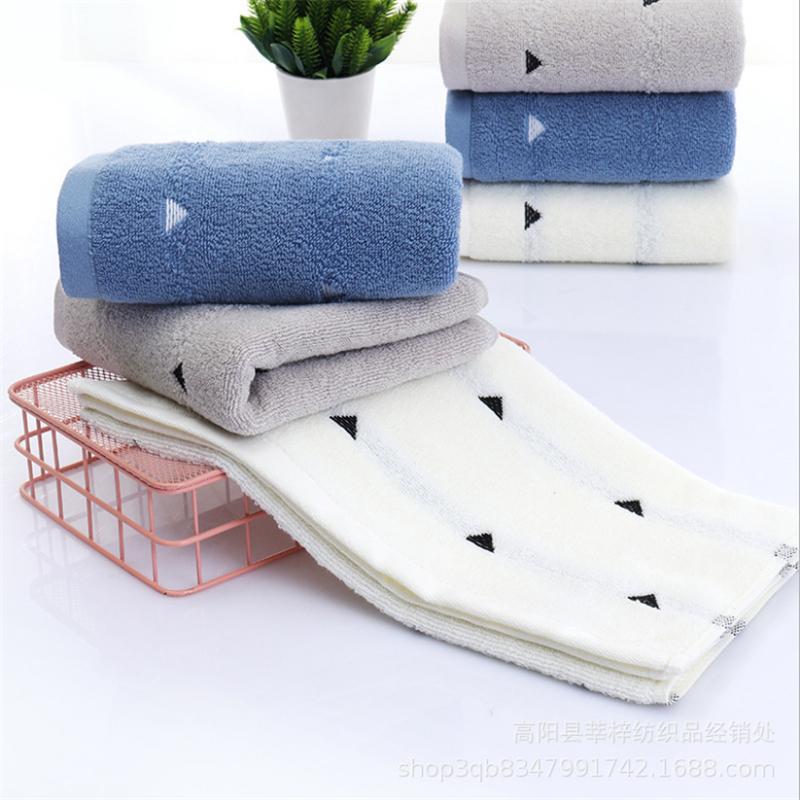 Direto de fábrica Cotton Hotel Triangle Toalha 110g macia absorvente espessamento Aumentar Household Wash toalha de rosto Unisex
