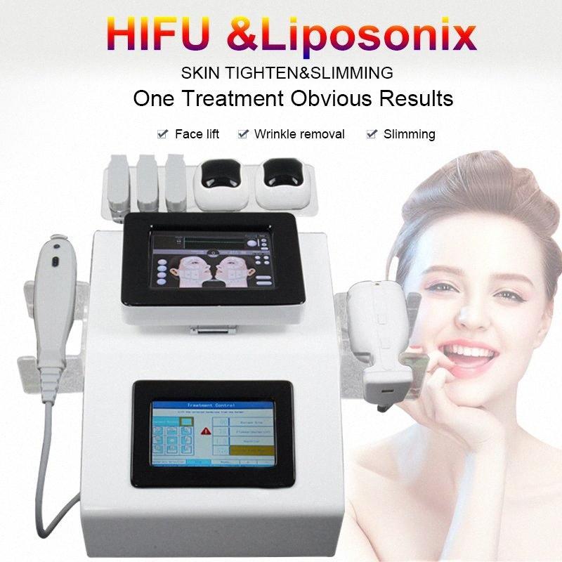 HIFU LipoSonix 2 em um salão de velashape terapia máquina de ultra-som Lipoaspiração pele máquina lipohifu spa liposonic emagrecimento Junz #