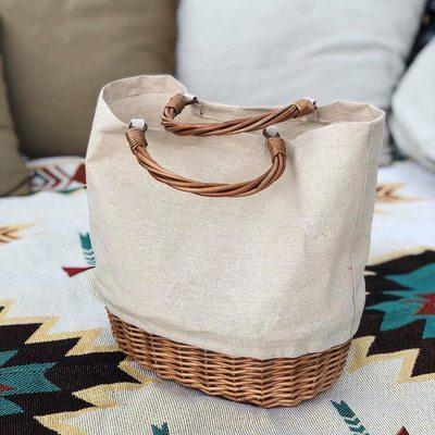Luxury Bags Rattan Summer Travel Bag Bohemian Lady Tote Straw Clutch Beach Basket Arrive Women Bucket Wicker Handbag Shoulder Njxae