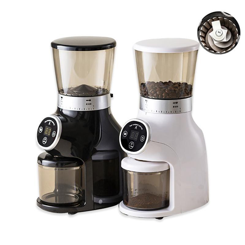 Moedores de café elétricos YTK moedor de casa de aço inoxidável máquina de alta tecnologia de feijão multifuncional e conveniente